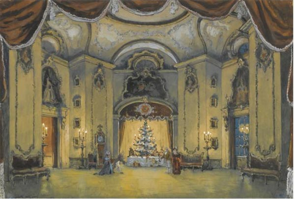 Alexandre Benois design for The Nutcracker.