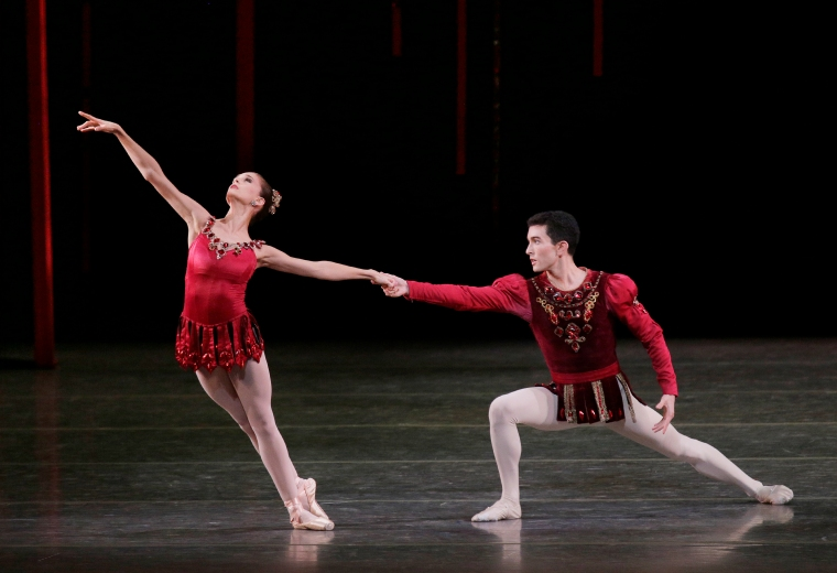 With Anthony Huxley in Rubies. (All photos by Paul Kolnik.)