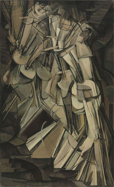 "Duchamp's ""Nude Descending a Staircase."""
