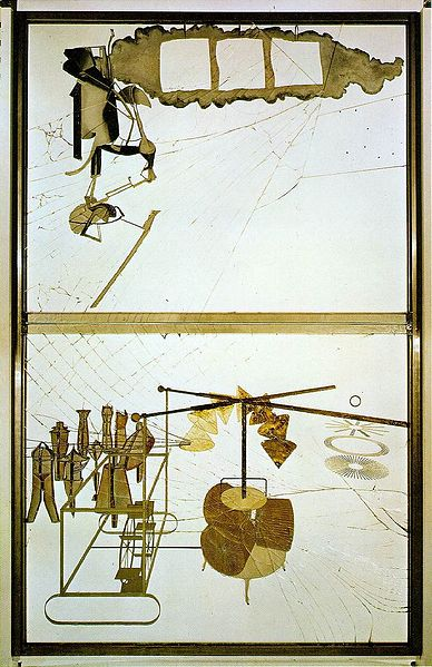 "Duchamp's ""The Bride Stripped Bare by Her Bachelors, Even."""