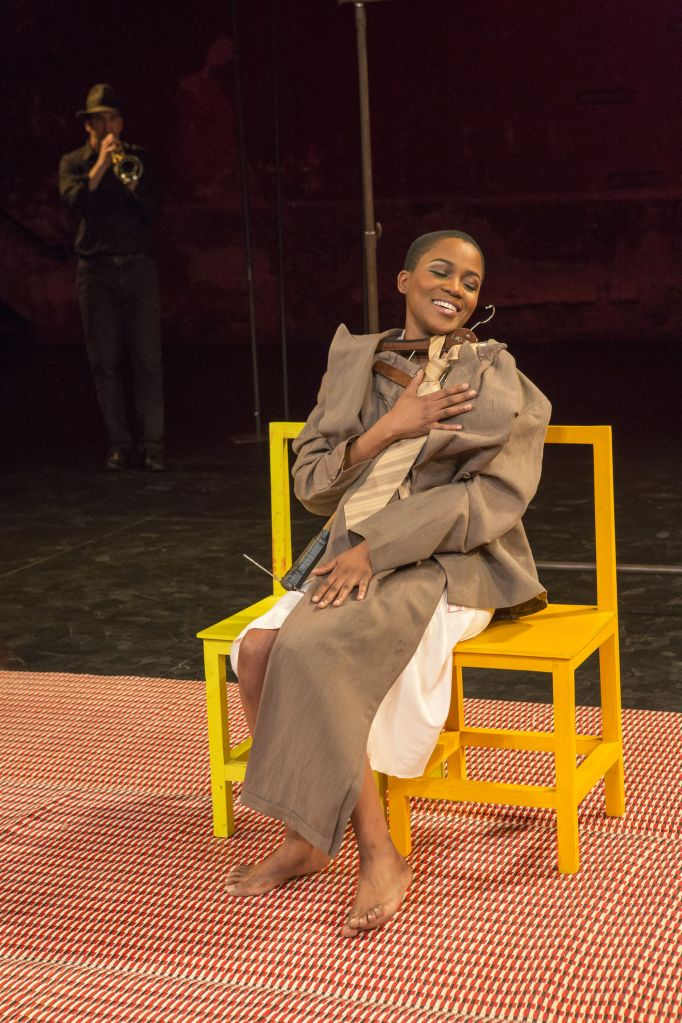 "Nonhlanhla Kheswa in ""The Suit."" Photo by Richard Termine."