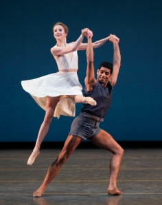 Sterling Hyltin and Amar Ramasar in Paz de la Jolla. Photo by Paul Kolnik.