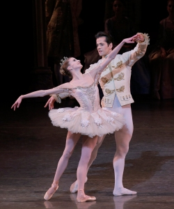 Sterling Hyltin and Robert Fairchild in Sleeping Beauty. Photo by Paul Kolnik