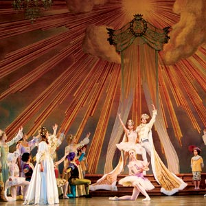 The final tableau in Peter Martins' Sleeping Beauty. Photo by Paul Kolnik.