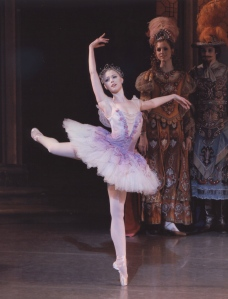 Teresa Reichlen as the Lilac Fairy in Sleeping Beauty. Photo by Paul Kolnik.