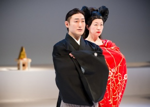 Kuniya Sawamura and Yasuko Yokoshi. Phoot by Ian Douglas.