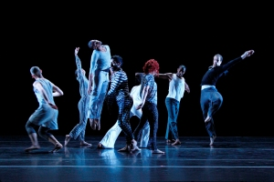 "The Bill T. Jones/Arnie Zane Dance Company in ""Ravel: Landscape or Portrait?"" Photo by Paul B. Goode."