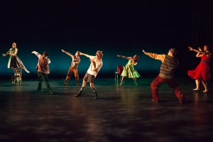 "The Mark Morris Dance Group in ""A Wooden Tree."" Photo by Tim Summers."