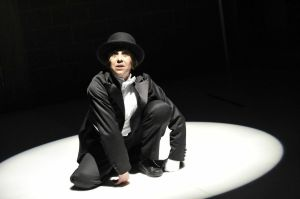 "Kathryn Hunter in ""Kafka's Monkey,"" at BAC."