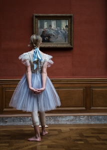 """Mia Potter in """"Degas Dances"""" at the Frick. Photo by Lucas Chilczuk."""