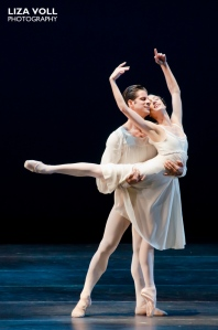 Dorothée Gilbert and Marcelo Gomes. Photo by Liza Voll Photography.