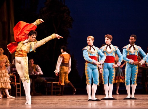 Alexandre Hammoudi as Espada in ABT's Don Q. Photo by Renata Pavam, first appeared in the Huffington Post.
