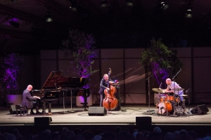 The Bad Plus perform Igor Stravinsky's The Rite of Spring at Ojai. Photo by Timothy Norris.
