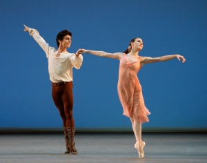 Tiler Peck and Joaquín de Luz in Dances at a Gathering. Photo by Paul Kolnik.