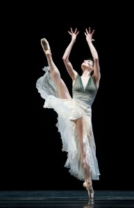 "Sofiane Sylve in Christopher Wheeldon's ""Ghosts."""