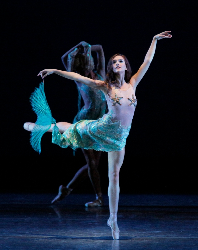 Lauren Lovette in Carnival of the Animals, by Christopher Wheeldon. Photo by Paul Kolnik.