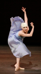 "Jenifer Ringer as the cigarette girl in Ratmansky's ""Namouna."" Photo by Paul Kolnik."