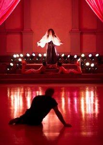 Claudia La Rocco's exorcism in Way In. Photo by Ian Douglas.