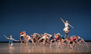 The finale of Justin Peck's Paz de la Jolla. Photo by Paul Kolnik.