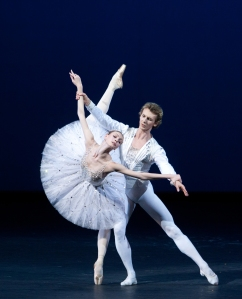 Olga Smirnova and Semyon Chudin in Diamonds. Photo by Elena Fetisova