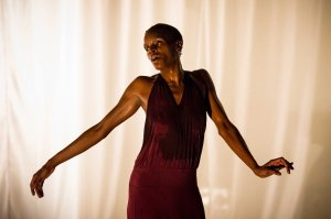 Okwui Okpokwasili in Bronx Gothic. Photo by Ian Douglas.