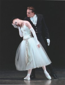 "Janie Taylor and Sébastien Marcovici in ""La Valse."" Both will retire at the end of the season. Photo by Paul Kolnik."