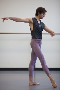 Zachary Catazaro of NYCH. Photo by Darius Barnes from http://oneballet.tumblr.com