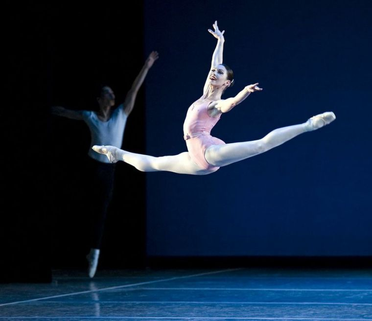 Kathleen Breen Combes in Symphony in Three Movements. Photo by Gene Schiavone.