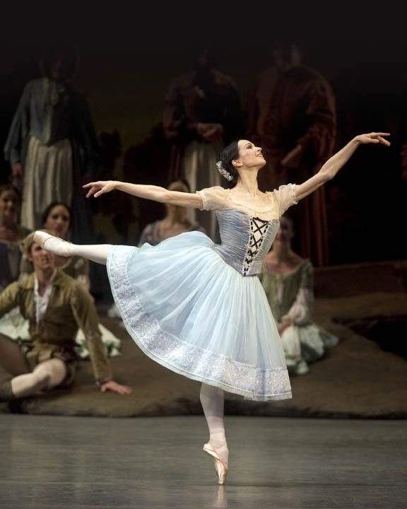 Diana Vishneva, by Gene Schiavone.