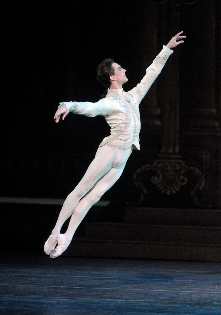 Joseph Gorak in Frederick Ashton's Cinderella. Photo by Gene Schiavone.