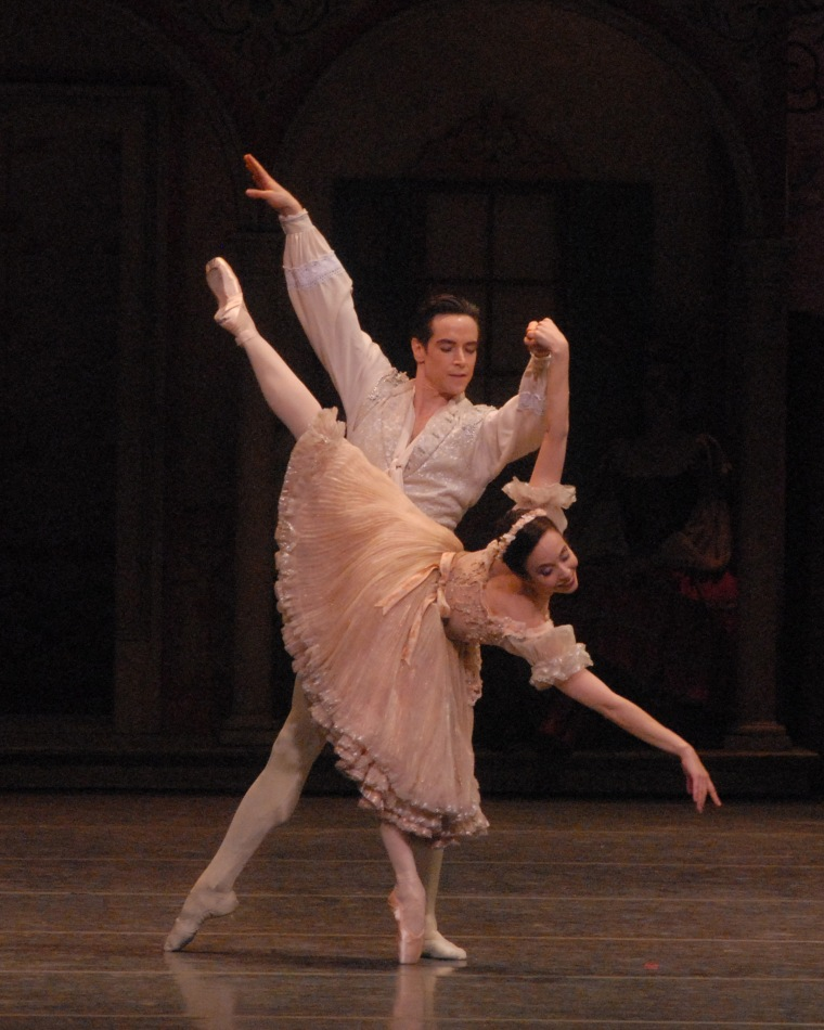 Xiomara Reyes and Sascha Radetsky in Coppélia. Photo by MIRA.