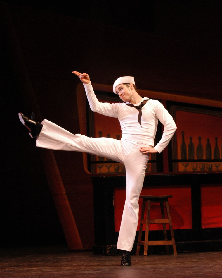 Radetsky in Fancy Free. Photo by Marty Sohl.
