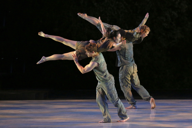 A moment from D-Man in the Waters, by Bill T. Jones. Photo by Tammy Shell.