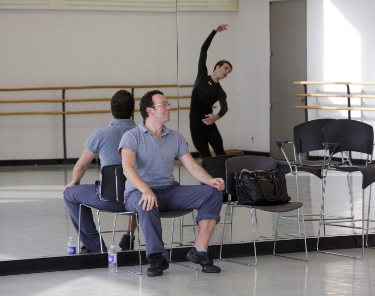 Ratmansky and Gonzalo García. Photo by Paul Kolnik.