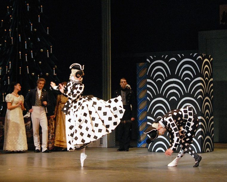 Columbine and Harlequin in ABT's Nutcracker. Photo by MIRA.