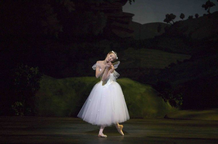 Gudrun Bojesen in La Sylphide. Photo by Martin Mydtsko Ronne.
