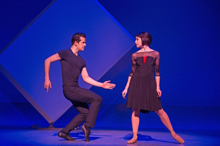 Leanne Cope and Robert Fairchild in An American in Paris. Photo by Matthew Murphy