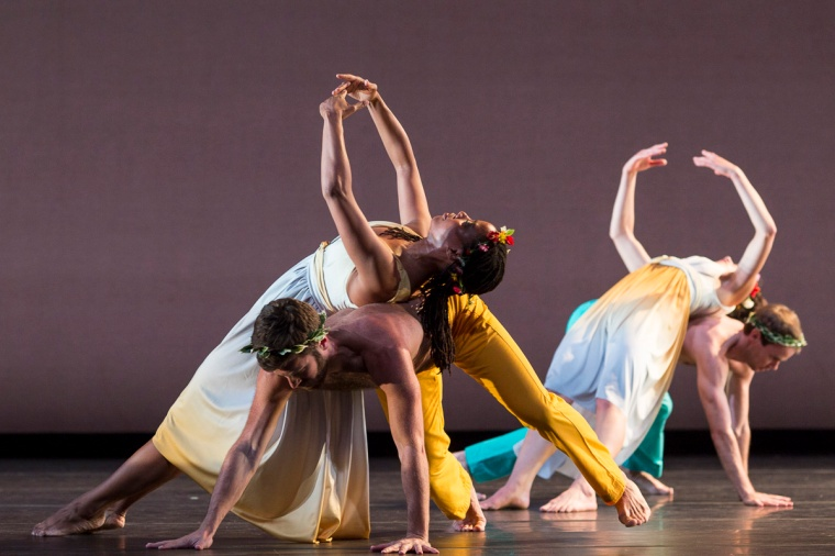 The Mark Morris Dance Group in Spring, Spring, Spring.