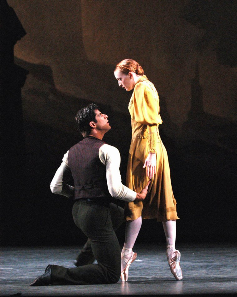 Gillian Murphy and Marcelo Gomes in Pillar of Fire. Photo by Marty Sohl.