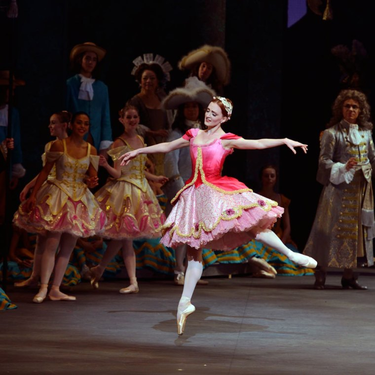 "Gillian Murphy in Alexei Ratmansky's ""The Sleeping Beauty"" for ABT. Photo by Gene Schiavone."