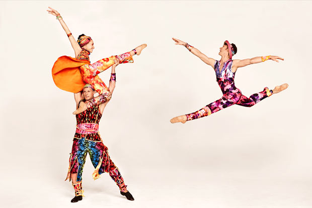 Amy Ruggiero, John Selya and Ron Todorowski in Yowzie publicity image by Ruven Afanador.