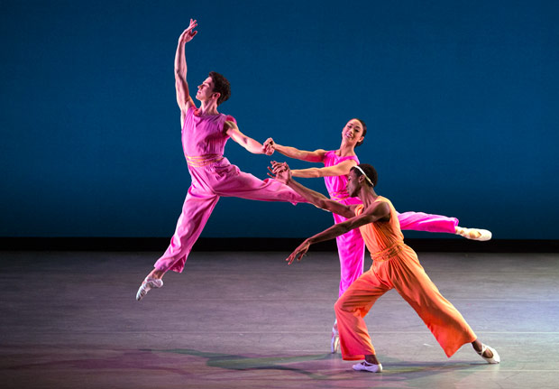 Arron Scott, Stella Abrera and Calvin Royal III in After You by Mark Morris. Photo by Rosalie O'Connor.