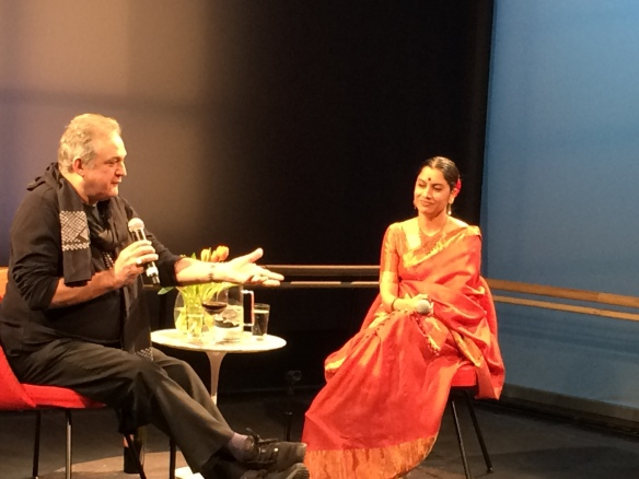 Surupa Sen and Mark Morris at the Baryshnikov Arts Center, part of Words on Dance.